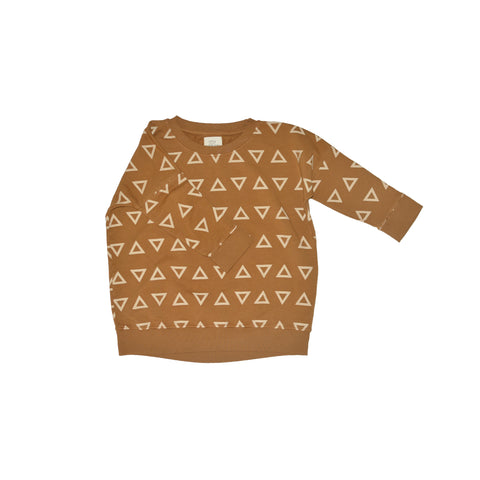 LITTLE URBAN APPAREL bluse / Boxy sweat triangles
