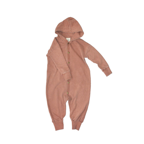 LITTLE URBAN APPAREL heldragt / Hoodie romper sunset