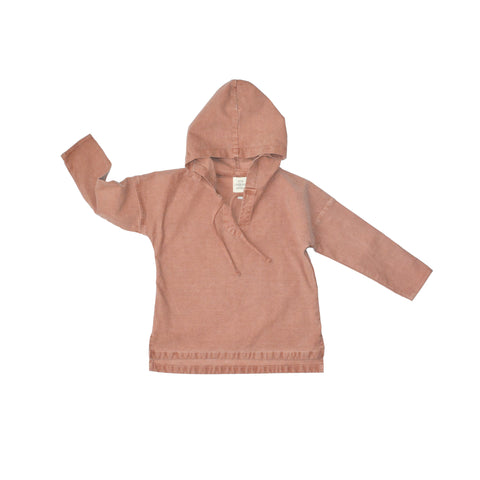 LITTLE URBAN APPAREL bluse / Coastal hoodie sunset