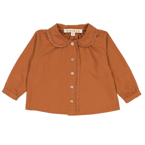 OMIBIA bluse / Ysella blouse spice orange