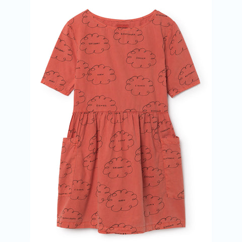 BOBO CHOSES kjole / Clouds pocket dress