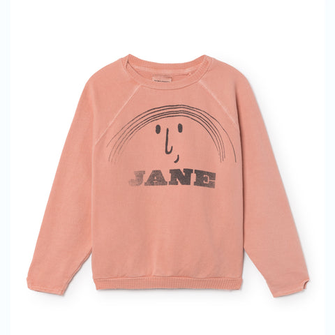 BOBO CHOSES bluse / Little jane ranglan sweatshirt