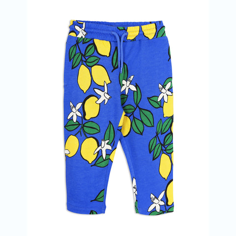 MINI RODINI bukser / Oh La La lemon sweatpants