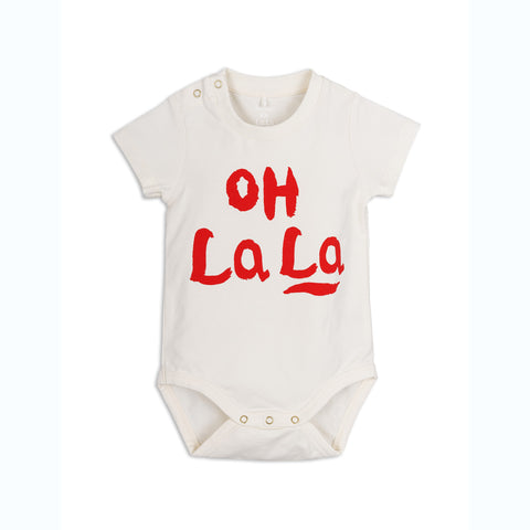 MINI RODINI body / Oh La La short sleeve body