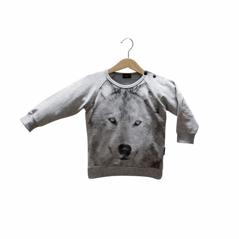 LUCKY NO 7 sweat / Wolf sweater