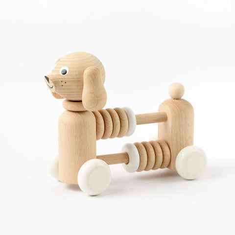 SARAH & BENDRIX / Wooden dog rattle (Bartholomew)