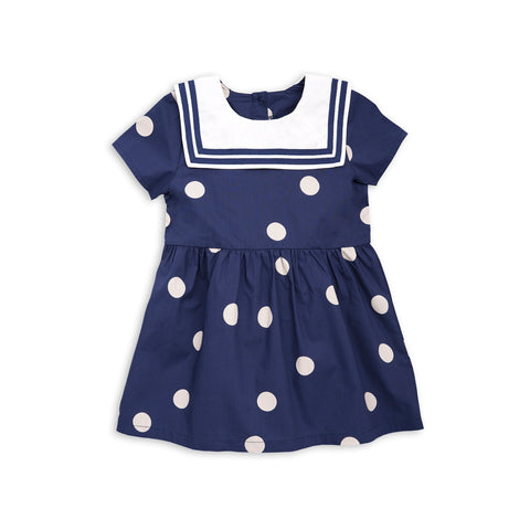 MINI RODINI kjole / Dot sailor dress
