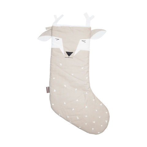 FABELAB julesok / Animal christmas stocking deer
