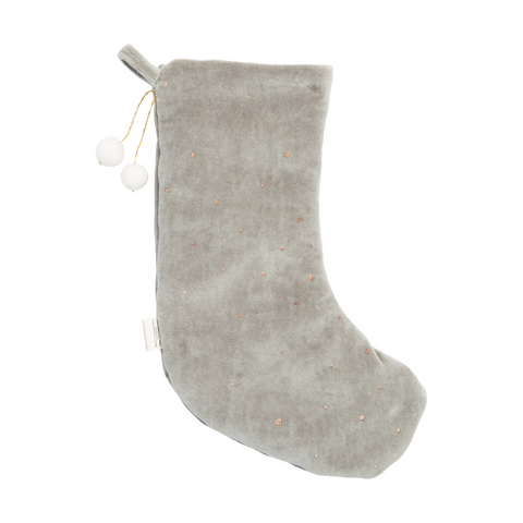 FABELAB julesok / Dreamy christmas stocking grey