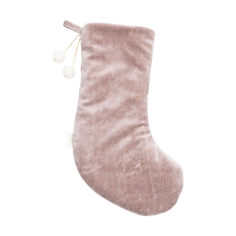 FABELAB julesok / Dreamy christmas stocking mauve