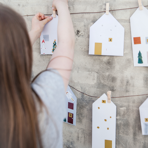 FABELAB / Christmas calendar DIY in fairy town