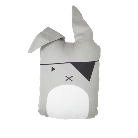 FABELAB pude / Animal cushion pirate bunny
