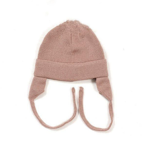 HUTTELIHUT uld hue / Baby ear flap dusty rose
