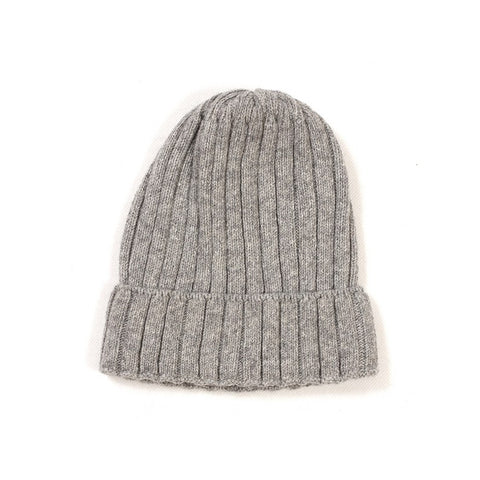 HUTTELIHUT beanie / Strik fold-up light grey