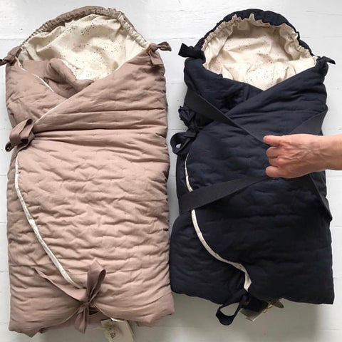 KONGES SLØJD kørepose / Nemuri sleeping bag BARK