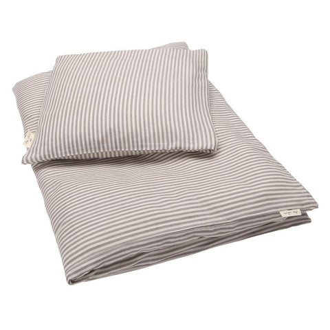 KONGES SLØJD adult bedding / Muslin striped