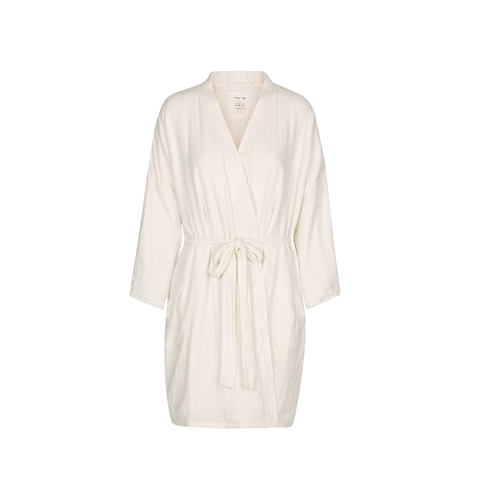 KONGES SLØJD Mommy robe / Nature white