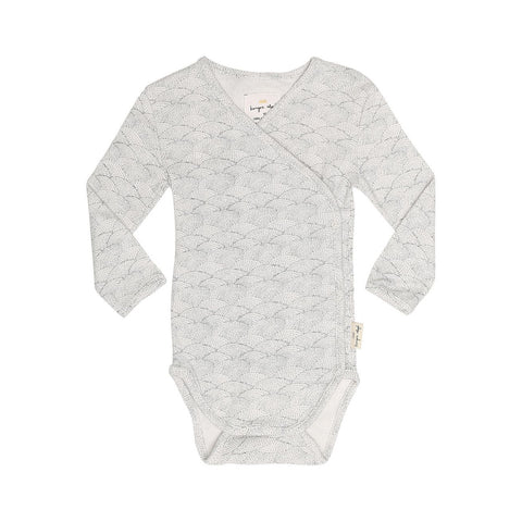 KONGES SLØJD newborn body / Sea shells off white