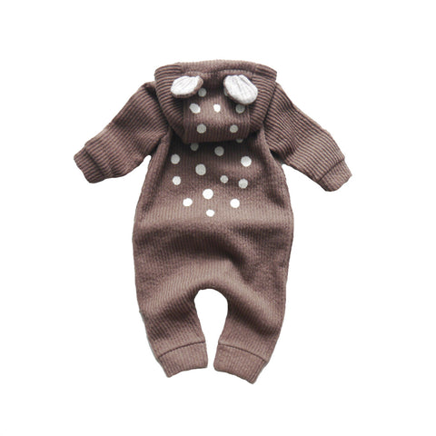LALA heldragt / My bambi suit brown (fleece)