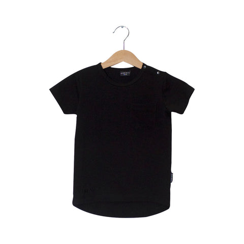 LUCKY NO 7 tee / Black long