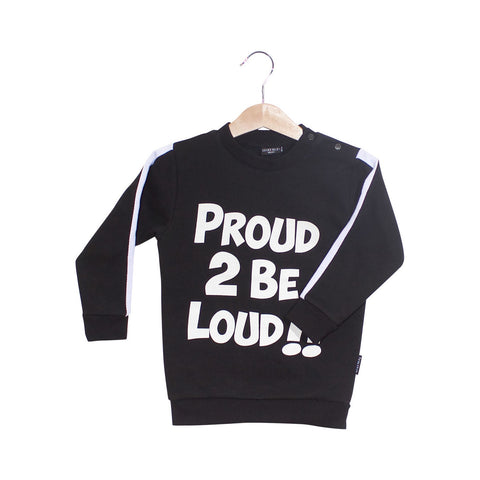 LUCKY NO 7 sweat / Proud to be loud sweater
