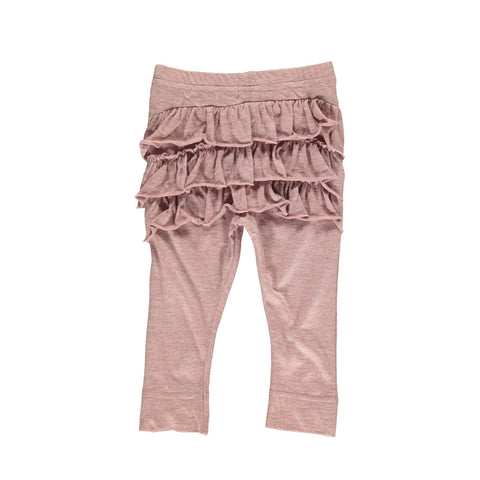 MARMAR baby bukser / Lisa frill pants antique rose