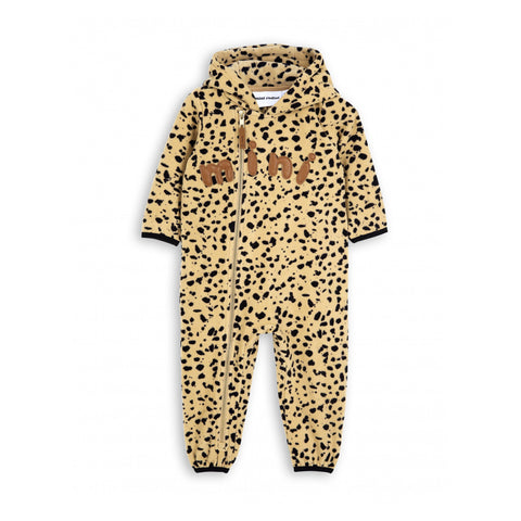 MINI RODINI fleecedragt / Fleece spot onesie