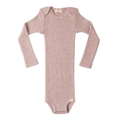 MINIMALISMA uld body / Alaska dusty rose