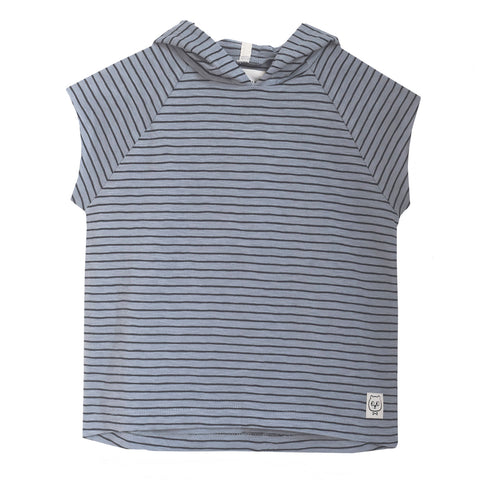 MONSIEUR MINI bluse / Striped hoodie t-shirt
