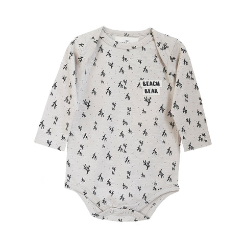 MONSIEUR MINI body / Sea weed onesie