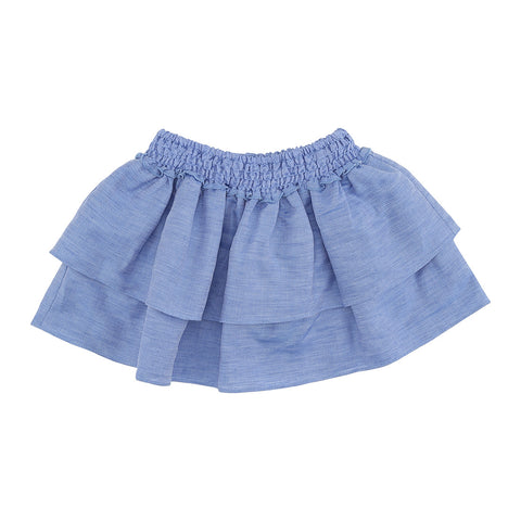POPPY ROSE nederdel / Praline skirt 'ocean blue'