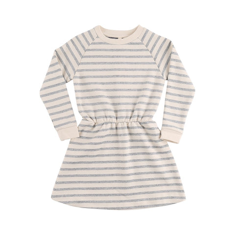 POPUPSHOP kjole / Stripes robbie dress