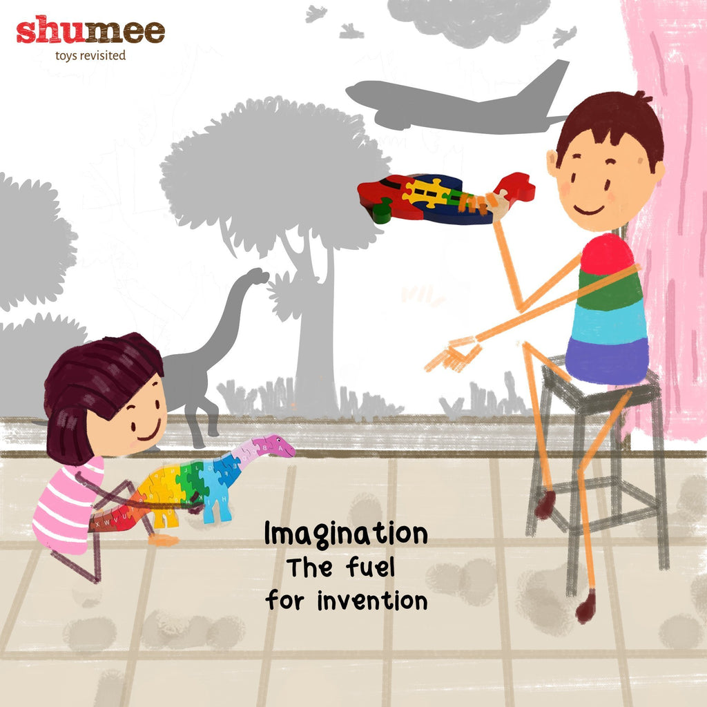 Kids, inventions and the power of imagination