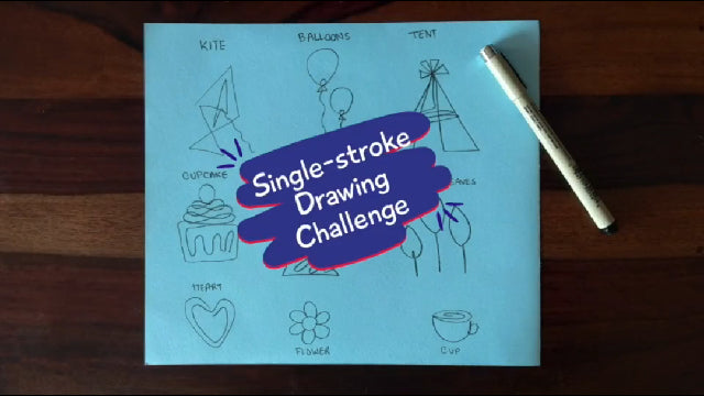 Take the Single Stroke Drawing Challenge
