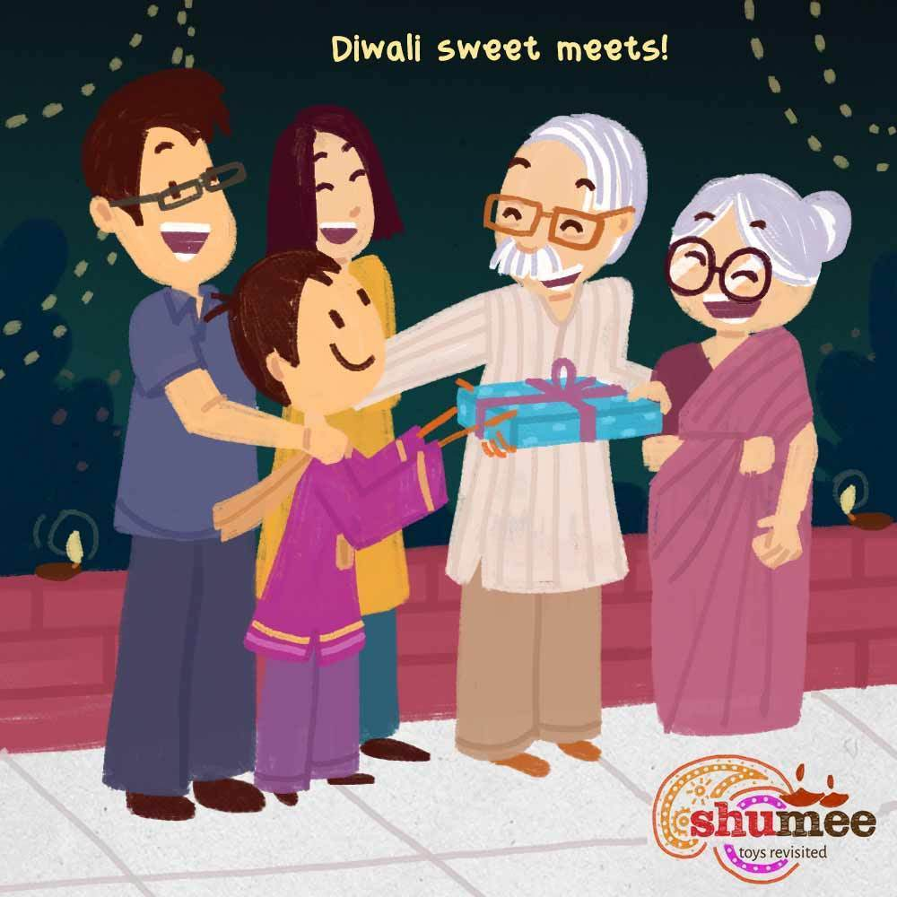How to celebrate diwali with family and friends and make it shine brighter