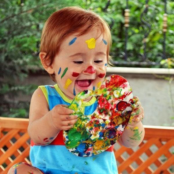 Play with colours! How to use colours for growth and development of your child.