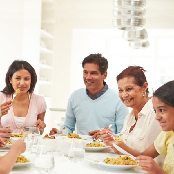 Why a family meal is important for kids and families.