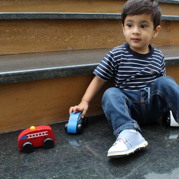 Playing with cars! Toys that bridge generations and genders and enhance STEM learning.