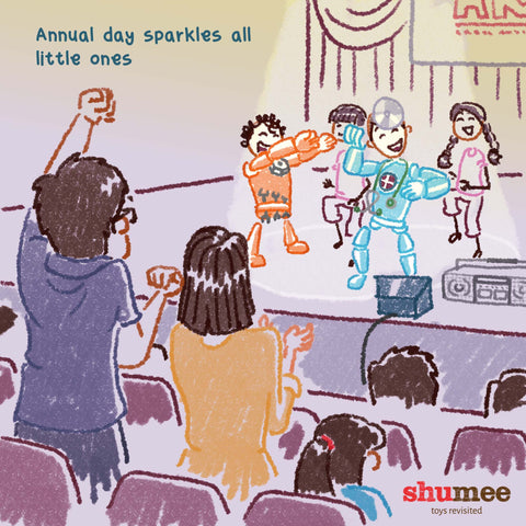 Annual day sparkles all little ones