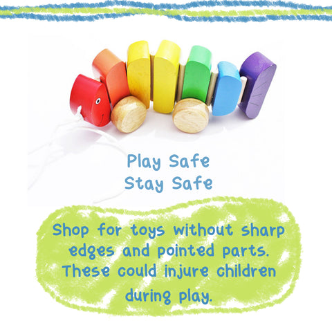 Play safe, stay safe - Shume Safe Toys For Babies
