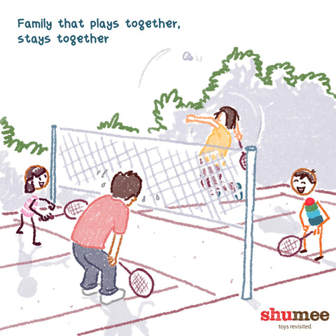 Family that plays together stays together - Shume Baby Toys Online