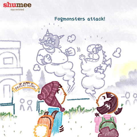 Fogmonsters attack - Shumee Baby Toys Online Shopping