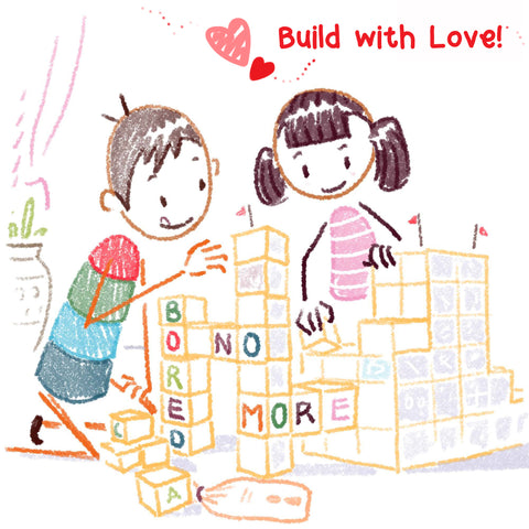 puzzle and blocks for toddlers