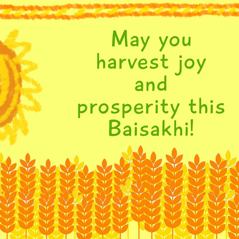 Harvest joy and prosperity this Baisakhi - Shumee
