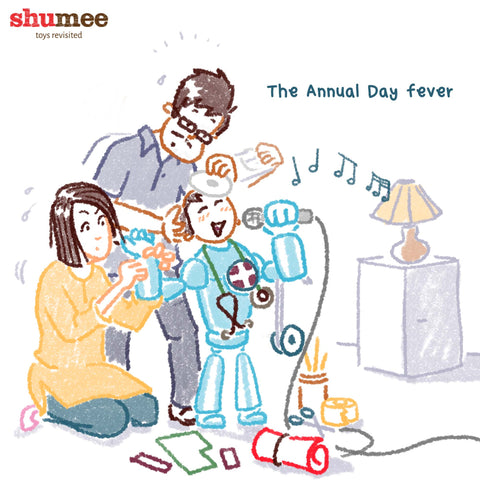 The Annual day fever for kids