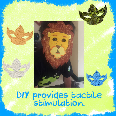DIY provides tactile stimulation
