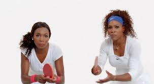 Tennis stars Serena and Venus Williams - Shumee