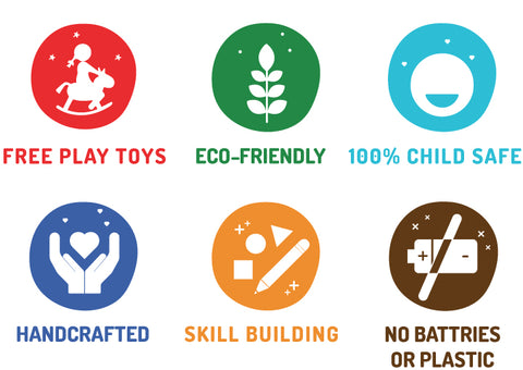 shumee - ecofriendly toys - made in india -free play toys