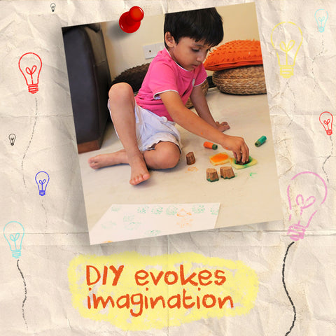 DIY evokes imagination