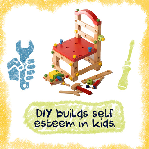 DIY builds self esteem